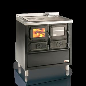 Cucina a legna con forno da inserimento Rio 80
