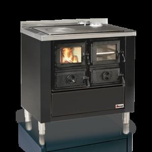 Cucina a legna con forno da inserimento Rio 90