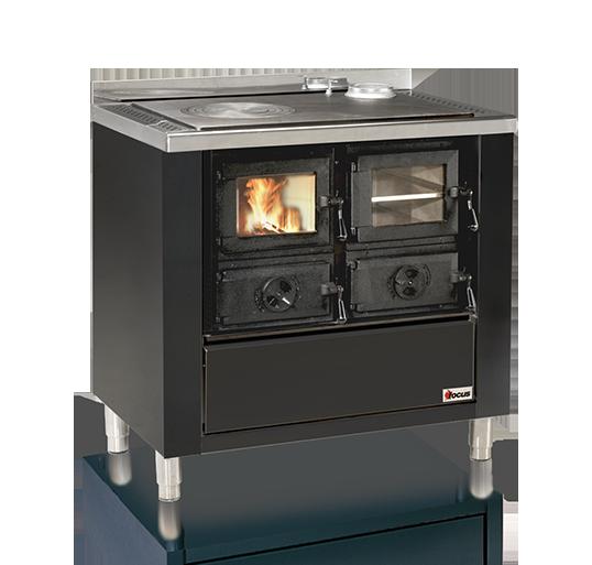 Cucina a legna con forno prezzi convenienti Rio 90